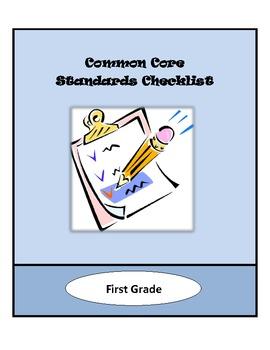 Common Core Lesson Planning Checklist - 1st Grade