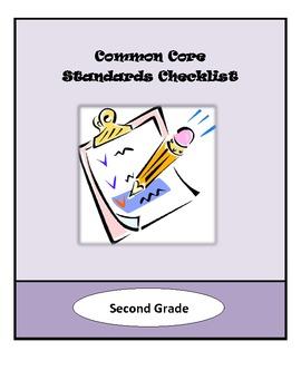 Common Core Lesson Planning Checklist - 2nd Grade