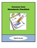 Common Core Lesson Planning Checklist - 8th Grade