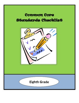 Common Core Lesson Planning Checklist - 8th Grade