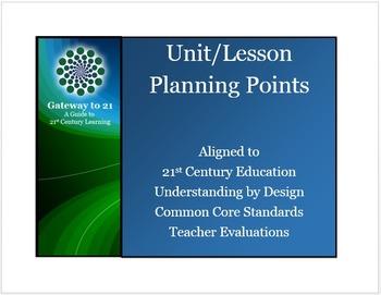Common Core Lesson Plans