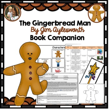 The Gingerbread Man book Companion, retold by Aylesworth