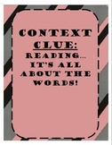 Common Core Lessons: Context Clues Resource Packet