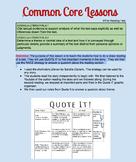 Common Core Lessons: RL6.1 / RL6.2: ELEVEN by Sandra Cisnero