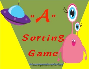 Common Core Letter A Game