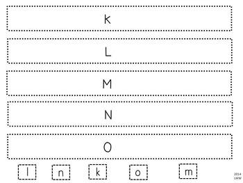 Common Core Letters and Sounds Bracelets