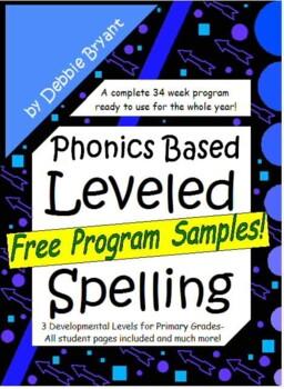 Common Core Spelling {Leveled Program} Free Sampler!