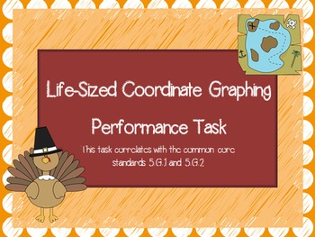 Coordinate Life-sized Graphing Performance Task