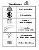 Common Core Listening Checklist