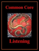 Common Core Listening Practice -- Here Be Dragons!