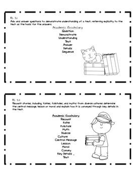 Common Core Literacy Academic Vocabulary 3rd Grade