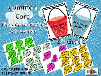 Common Core Literacy Center-Language-Abstract Nouns