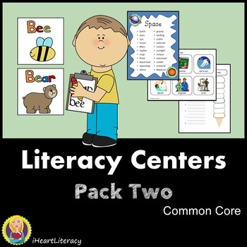 Common Core Literacy Centers - Pack 2