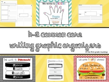 Graphic Organizers for K-2 Literacy
