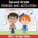 Reading Passages - Stories and Activities (2nd grade Common Core Literacy)