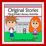 Reading Passages - Stories and Activities (3rd grade Common Core Literacy)