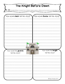 Common Core Literacy Resource Pack The Knight at Dawn