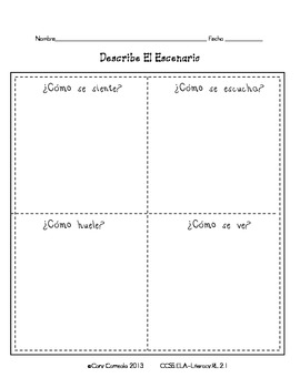 Common Core Literacy Standard 2.1
