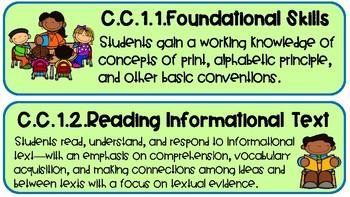 Common Core Literacy Standards Kto4