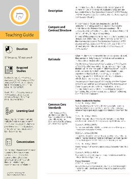 Common Core Literacy Study - Contemporary Novel