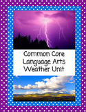 Weather: Language Arts Printables