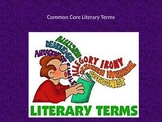 Common Core Literary Terms