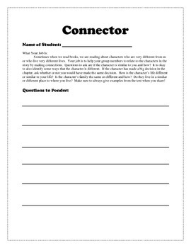 Common Core Literature Circles