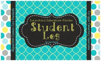 Common Core Literature Circles Student Log