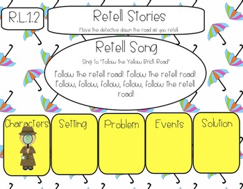 Common Core Literature Graphic Organizers and Activities {For the Smart Board}