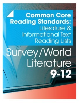 CCSS Literature & Informational Texts Readings Lists--Worl