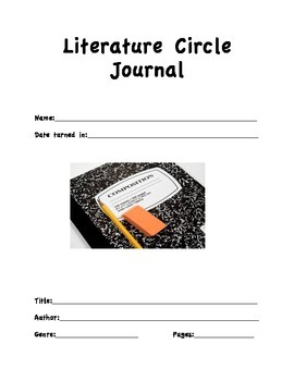 Common Core Literature Response Journal