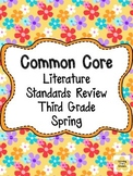 Common Core Literature Standards Review for Third Grade, S