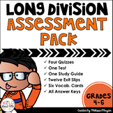 Long Division Assessments