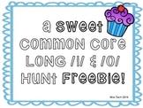 Common Core Long I and O hunt FREEBIE!
