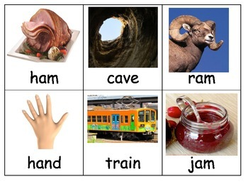 Common Core Long and Short Vowel A sort center ESL hands on kindergarten