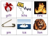 Common Core Long and Short Vowel I sort center ESL hands on kindergarten