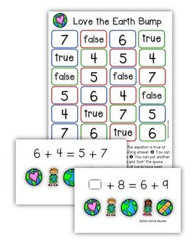 Earth Day Math Workstations