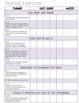 Common Core MATH and ELA Galore {1st Grade Checklist}