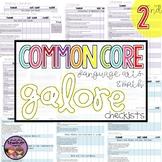 Common Core MATH and ELA Galore {2nd Grade Checklist}