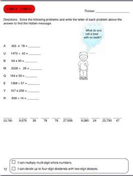 Common Core MATH for 5th Grade