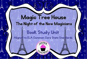 Common Core Magic Tree House Night of the New Magicians Bo
