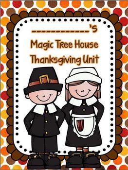 Common Core Magic Tree House Thanksgiving Non-Fiction Unit