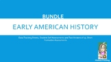 Early American History Assessment Mastery BUNDLE!!!