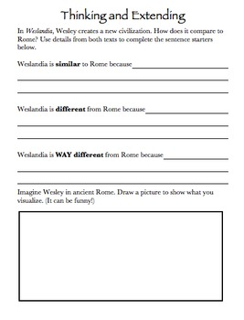Weslandia Teaching Resources