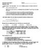 Common Core Math 1: Statistics Unit Test
