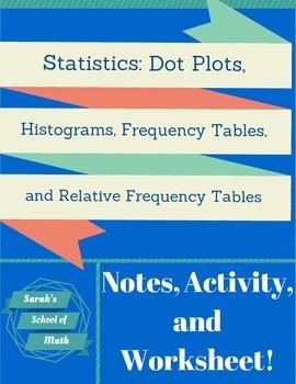 Common.Core.Math.1:Statistics Notes,Activity, WS: Graphs,