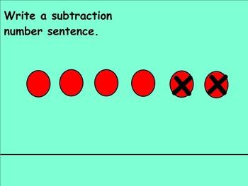 Common Core Math 1.OA Subtraction Unit for Smartboard