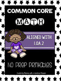 Common Core Math 1.OA.2 No Prep Printables