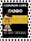 Common Core Math 1.OA.3 No Prep Printables