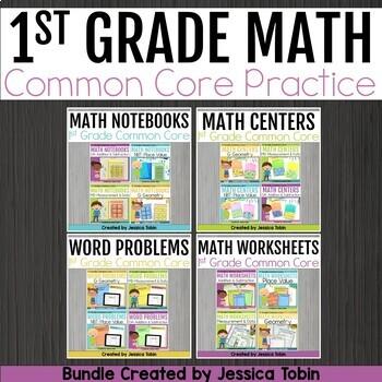 1st Grade Math- Common Core Math Bundle